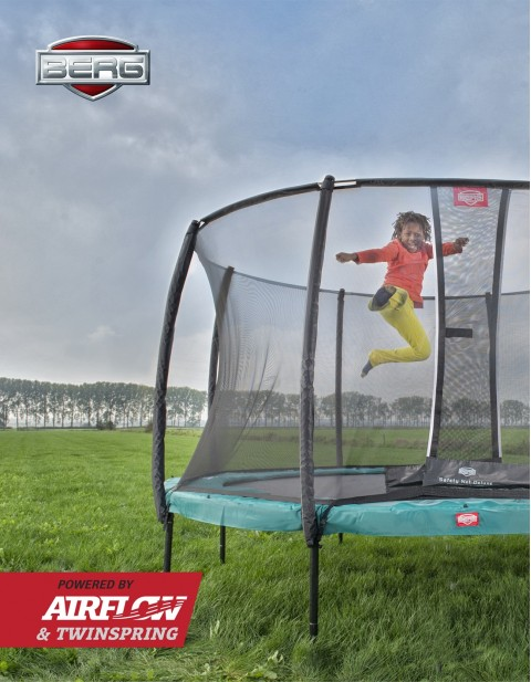 BERG Champion 270 + Safety Net Deluxe