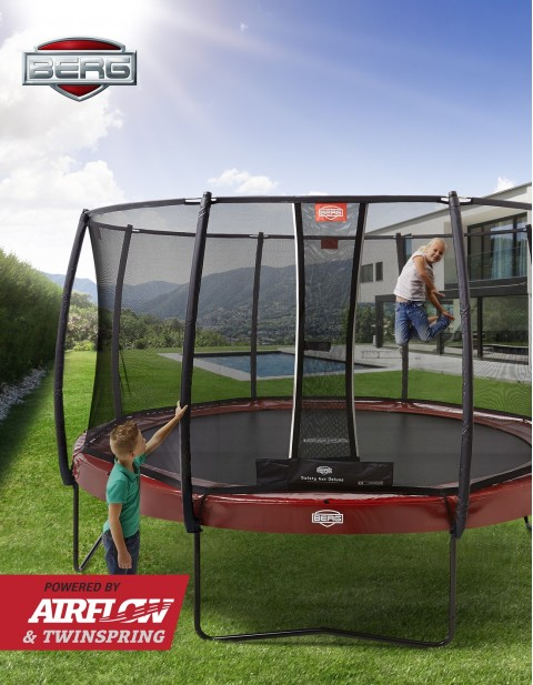 BERG Elite Grey 430 Tattoo + Safety Net Deluxe