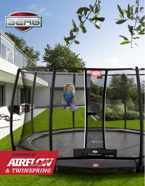BERG InGround Elite 330 + Safety Net Deluxe