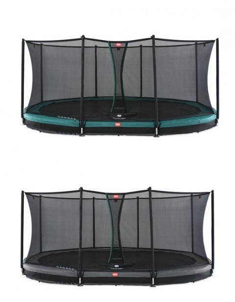 BERG Grand Favorit InGround 520 + Safety Net Comfort