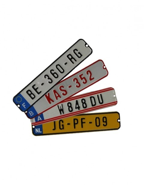 BERG License plate kit