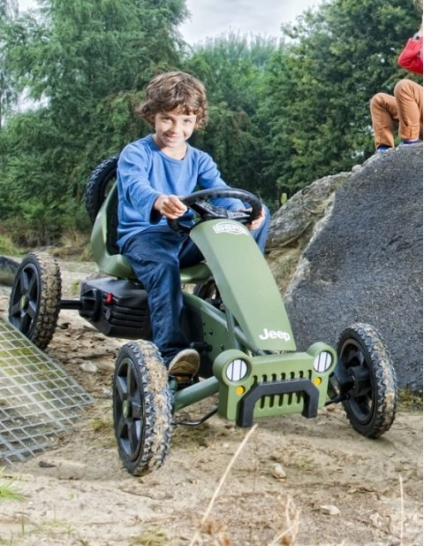 Jeep Adventure Pedal-Gokart